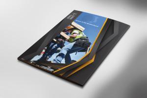 Carpenters Custom Presentation Folder