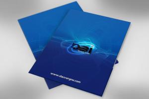 DBI Custom Presentation Folder