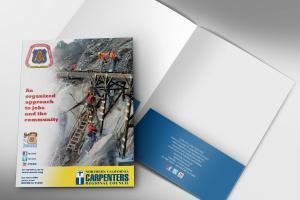 Carpenters Custom Presentation Folder