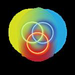 Neon graphic design icon