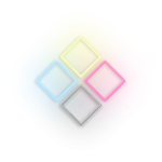 Neon print design icon