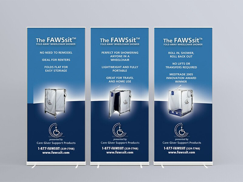 FAWSsit Rollup Displays