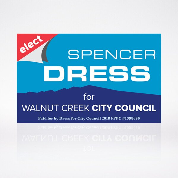 Spencer Dress Election Logo