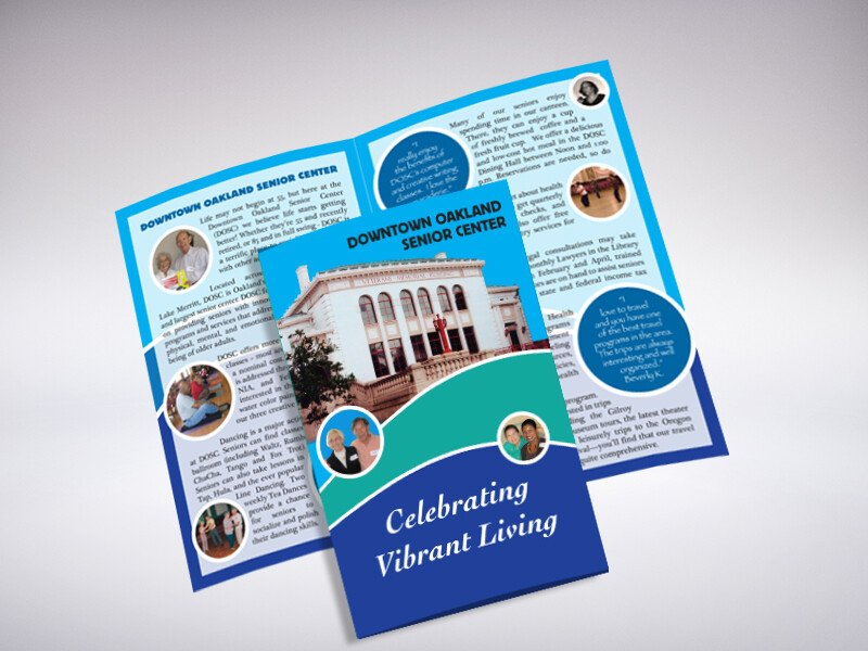 Senior Center Brochure