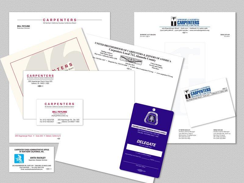 Carpenters Union Printed Items